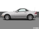 2004 Mercedes-Benz SLK Drivers side profile, convertible top up (convertibles only)