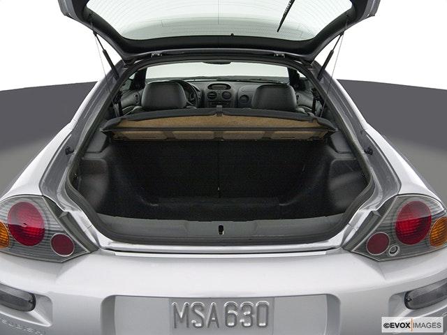 2004 Mitsubishi Eclipse Trunk open