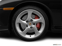 2004 Porsche 911 Front Drivers side wheel at profile