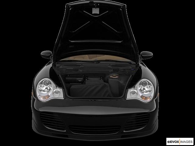 2004 Porsche 911 Trunk open