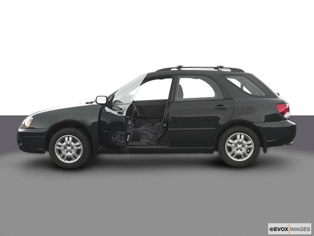 2004 Subaru Impreza Driver's side profile with drivers side door open