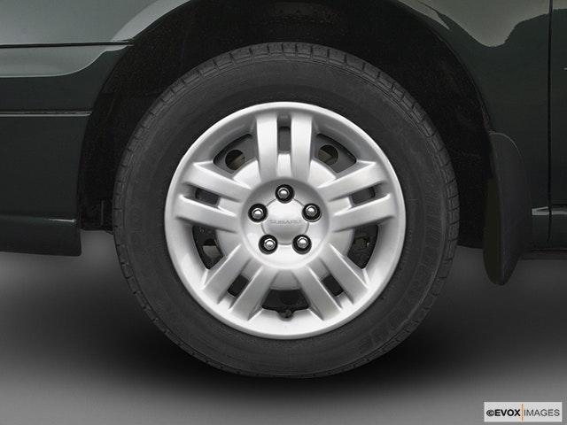 2004 Subaru Impreza Front Drivers side wheel at profile