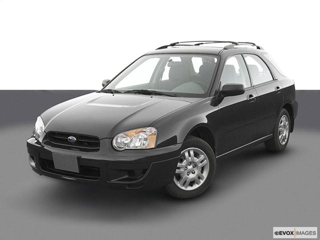 2004 Subaru Impreza Front angle view