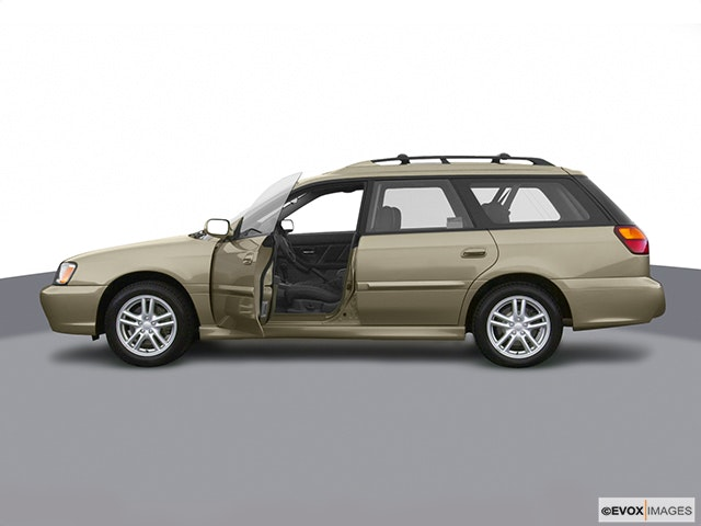 2004 Subaru Legacy Driver's side profile with drivers side door open