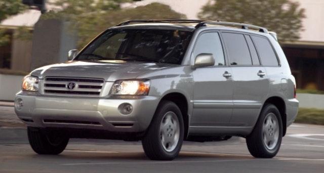 2004 Toyota Highlander Exterior