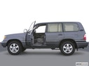 2004 Toyota Land Cruiser Driver's side profile with drivers side door open