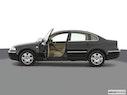 2004 Volkswagen Passat Driver's side profile with drivers side door open