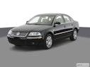 2004 Volkswagen Passat Front angle view