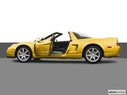 2005 Acura NSX Driver's side profile with drivers side door open