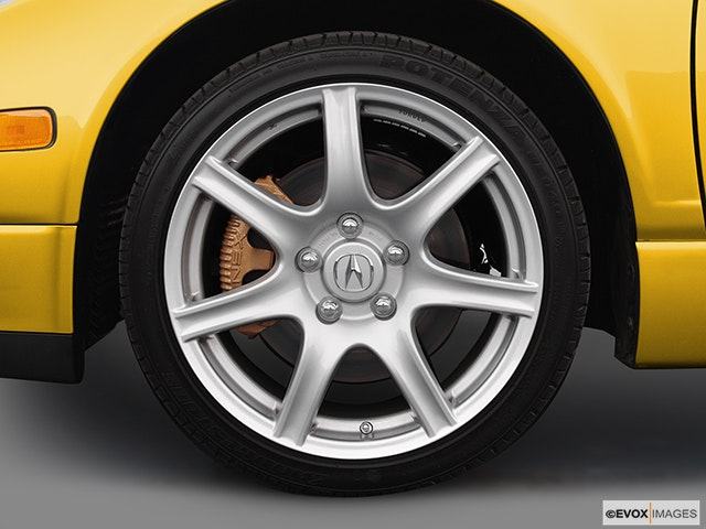 2005 Acura NSX Front Drivers side wheel at profile