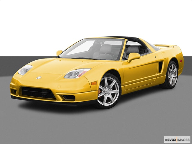2005 Acura NSX Front angle view