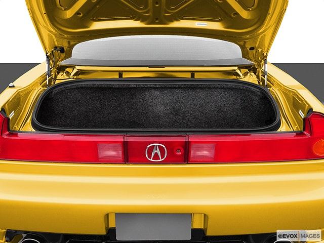 2005 Acura NSX Trunk open