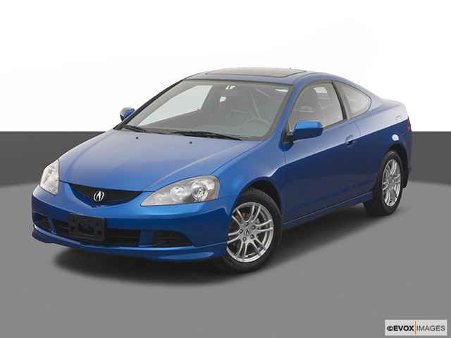 2005 Acura RSX Front angle view
