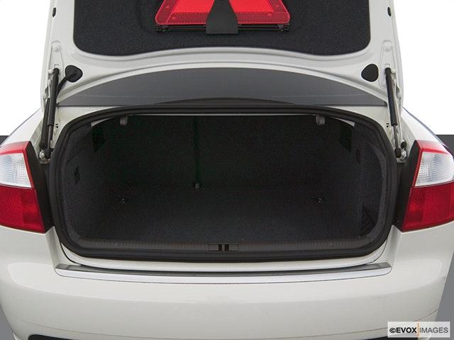 2005 Audi A4 Trunk open