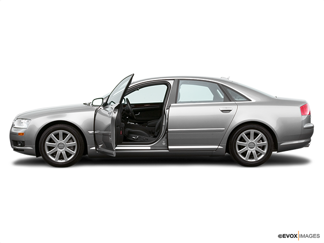 2005 Audi A8 Driver's side profile with drivers side door open