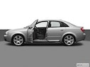 2005 Audi S4 Driver's side profile with drivers side door open