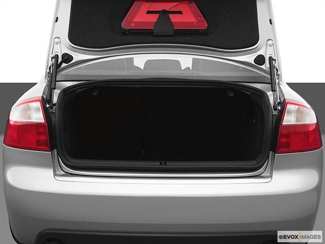 2005 Audi S4 Trunk open