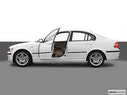 2005 BMW 3 Series Driver's side profile with drivers side door open