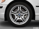 2005 BMW 3 Series Front Drivers side wheel at profile