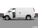 2005 Chevrolet Express Cargo Driver's side profile with drivers side door open