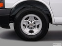 2005 Chevrolet Express Cargo Front Drivers side wheel at profile