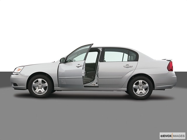 2005 Chevrolet Malibu Driver's side profile with drivers side door open