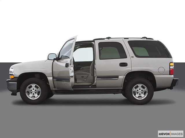 2005 Chevrolet Tahoe Driver's side profile with drivers side door open