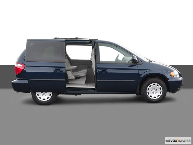 2005 Chrysler Town and Country Passenger's side view, sliding door open (vans only)