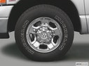 2005 Dodge Ram Pickup 2500 Front Drivers side wheel at profile