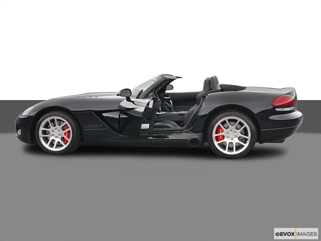 2005 Dodge Viper Driver's side profile with drivers side door open