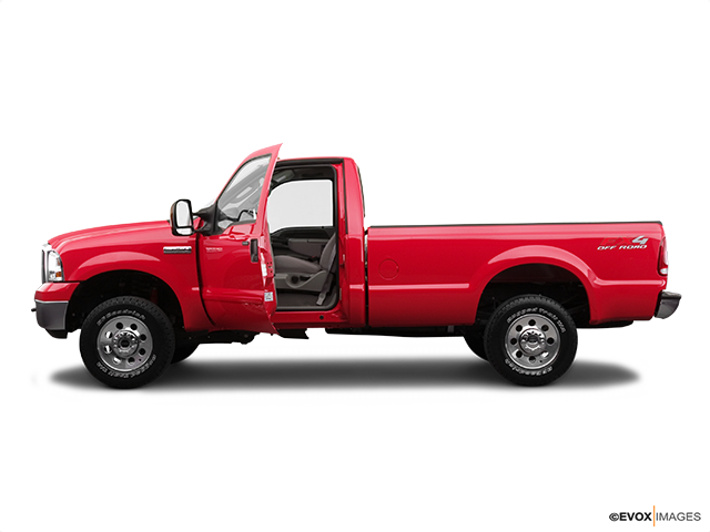 2005 Ford F-250 Super Duty Driver's side profile with drivers side door open