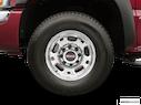 2005 GMC Sierra 1500HD Front Drivers side wheel at profile