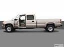 2005 GMC Sierra 3500 Driver's side profile with drivers side door open