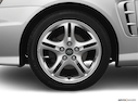 2005 Hyundai Tiburon Front Drivers side wheel at profile