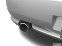 2005 Hyundai Tiburon Chrome tip exhaust pipe