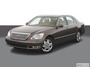 2005 Lexus LS 430 Front angle view