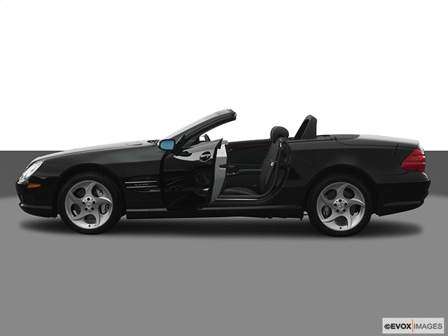 2005 Mercedes-Benz SL-Class Driver's side profile with drivers side door open