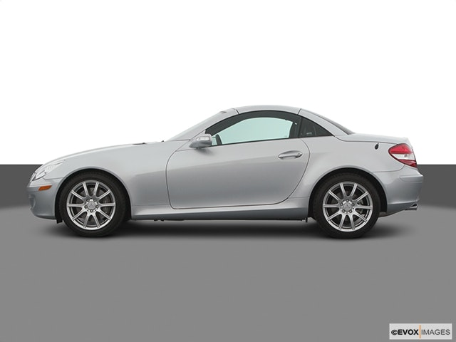 2005 Mercedes-Benz SLK Drivers side profile, convertible top up (convertibles only)
