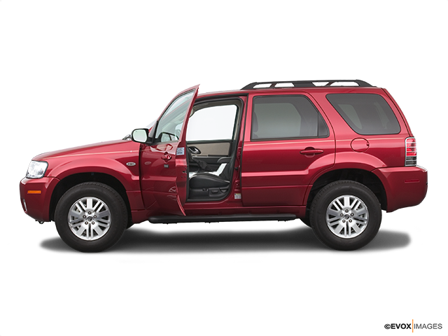 2005 Mercury Mariner Driver's side profile with drivers side door open