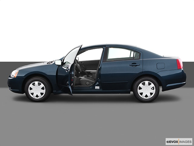 2005 Mitsubishi Galant Driver's side profile with drivers side door open