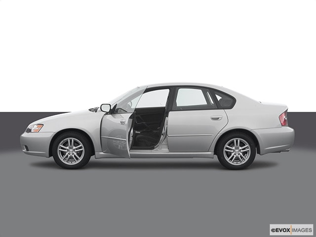 2005 Subaru Legacy Driver's side profile with drivers side door open