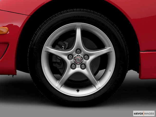 2005 Toyota Celica Front Drivers side wheel at profile