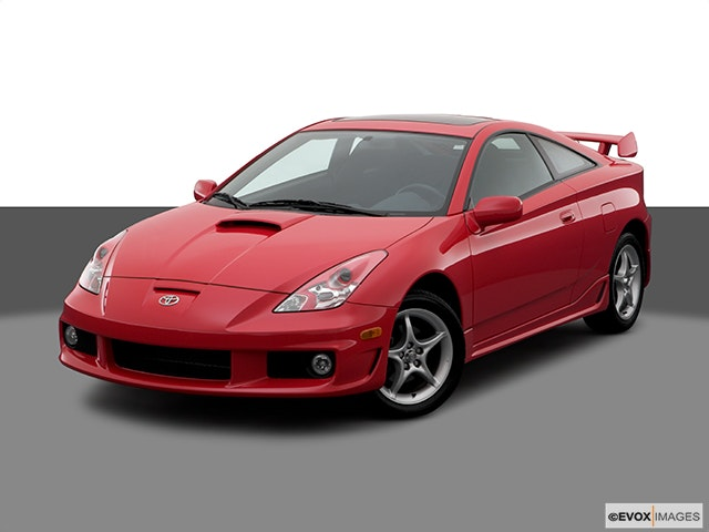 2005 Toyota Celica Front angle view