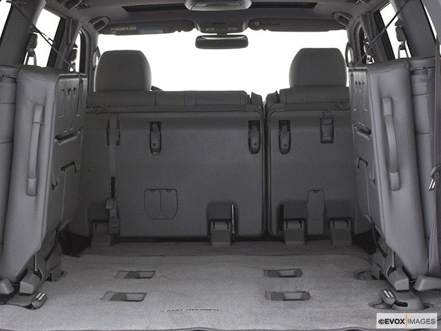 2005 Toyota Land Cruiser Trunk open