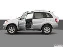 2005 Toyota RAV4 Driver's side profile with drivers side door open