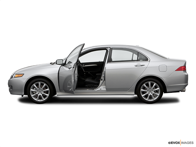 2006 Acura TSX Driver's side profile with drivers side door open