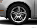 2006 Audi A4 Front Drivers side wheel at profile