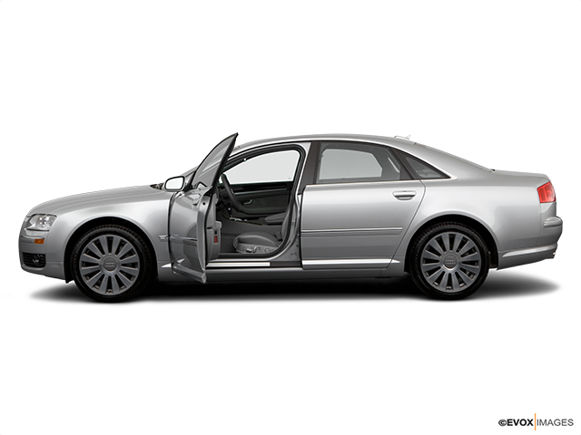 2006 Audi A8 Driver's side profile with drivers side door open