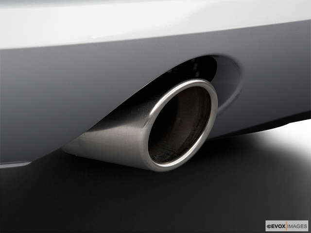 2006 Audi A8 Chrome tip exhaust pipe