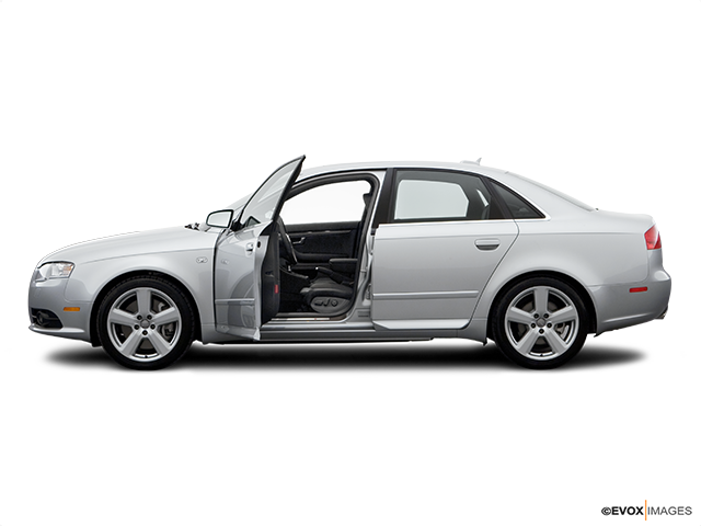 2006 Audi S4 Driver's side profile with drivers side door open